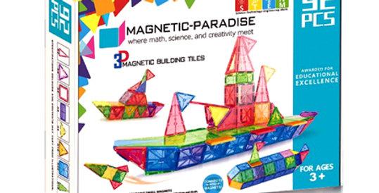 Magnetic-Paradise 92 Piece Set