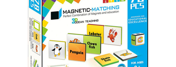 Magnetic-Paradise 78pcs 3D STEM Ocean Teaching