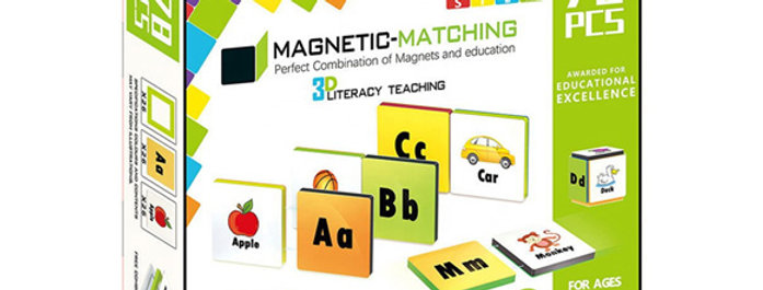 Magnetic-Paradise 78pcs 3D STEM Literacy Teaching