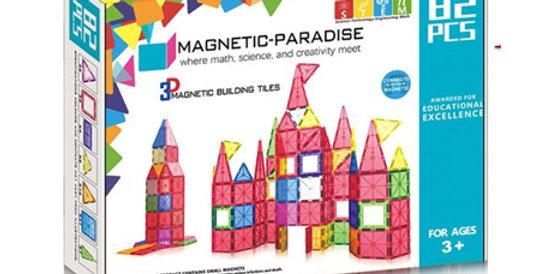 Magnetic-Paradise 82 Piece Set