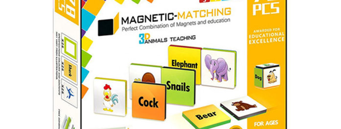 Magnetic-Paradise 78pcs 3D STEM Animal Teaching