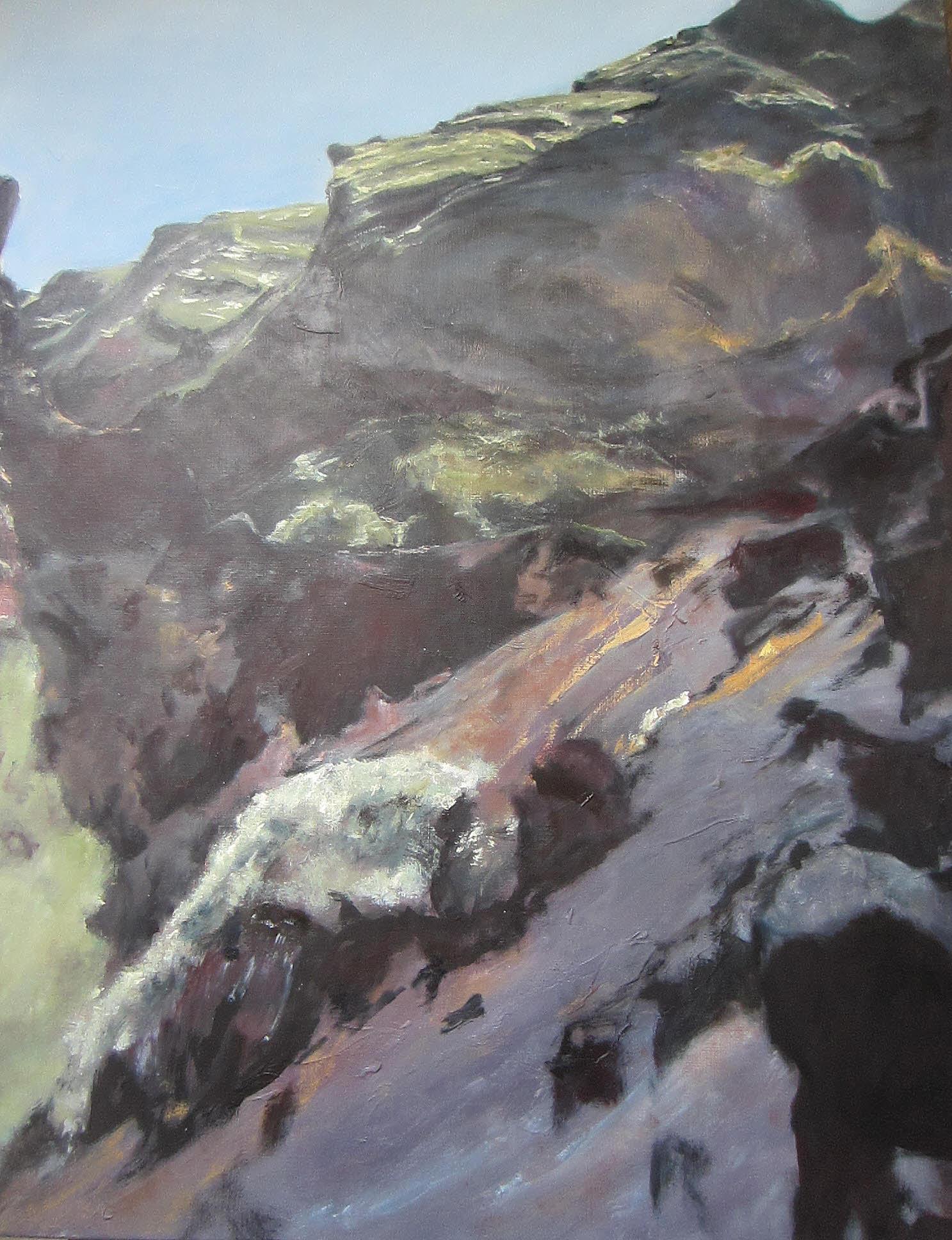 Ans Schutten, Noordkust La Palma
