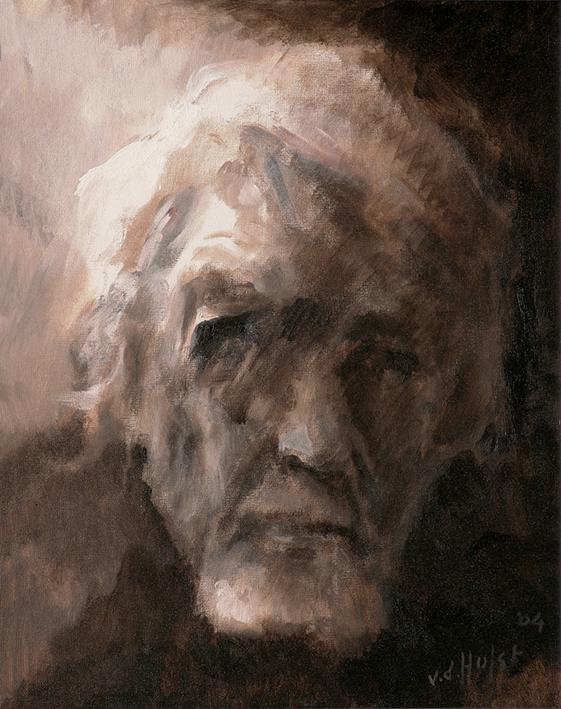 Zelfportret Olie op doek