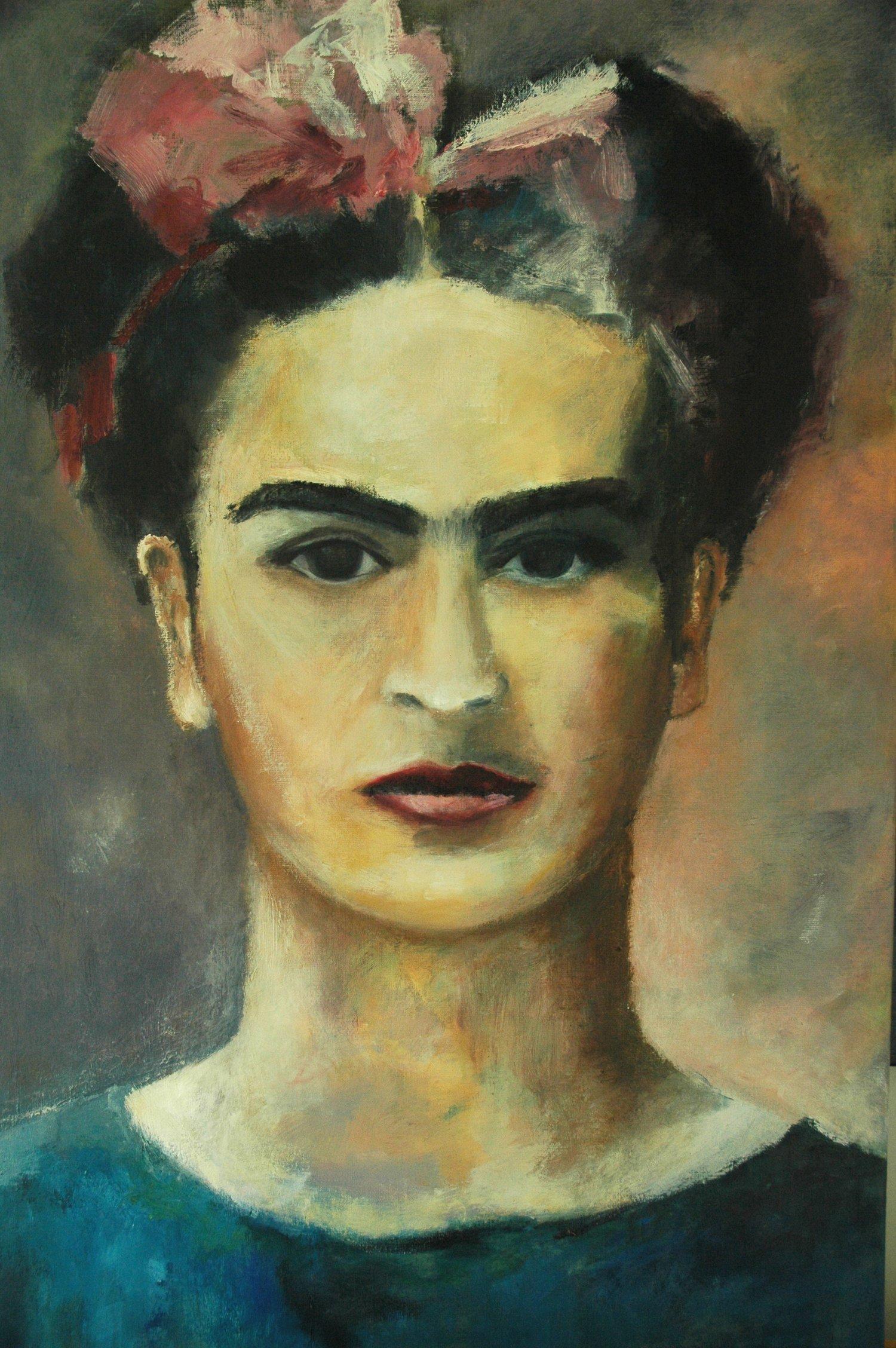 Marloes Molenaar- Frida Kahlo