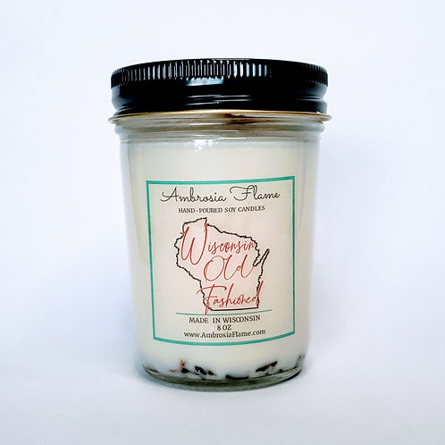 Wisconsin Old Fashioned Natural Scented Soy Candle 8 oz