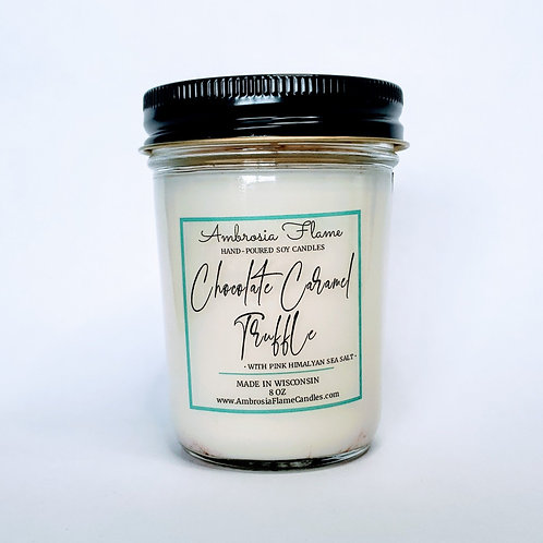 Chocolate Caramel Truffle Natural Scented Soy Candle