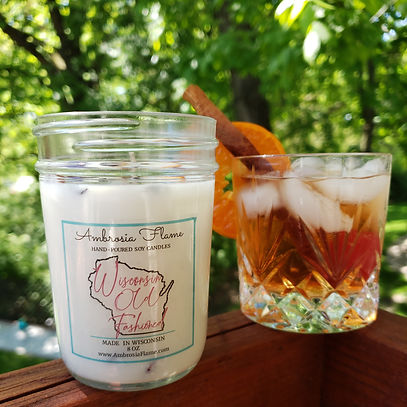 Natural Wisconsin Old Fashioned Scented Soy Candle