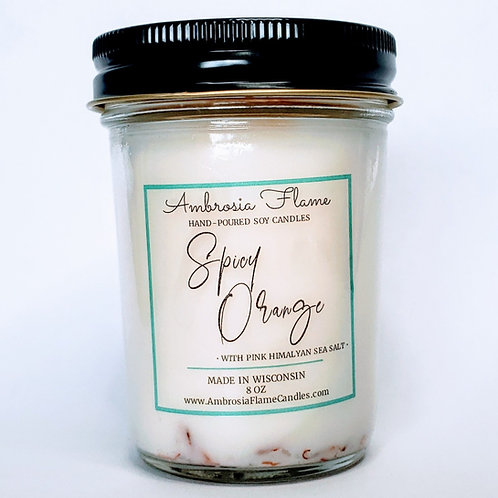 Spicy Orange Candle - 8 oz