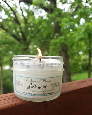 Luxury Lavender Soy Candle 4 oz