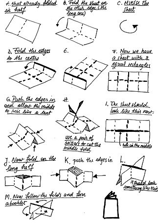 Step-4- Instructions for 8 pages zine.jp