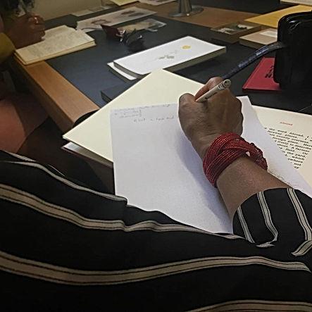 Woman_writing_Rhona_Eve_Clews.jpg