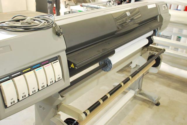 HP Druckmaschine für Langzeitfolien