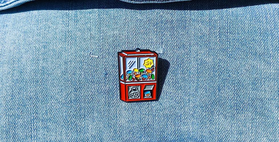 Bubblegum Machine Pin