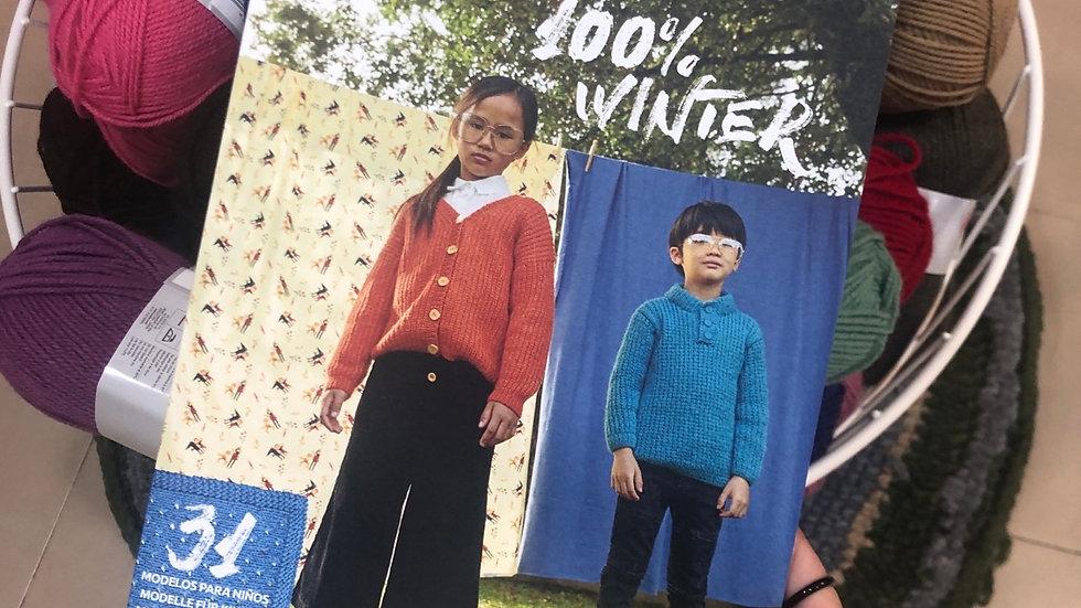 Revista 100% winter de Katia
