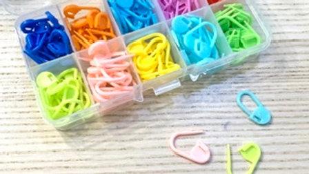 Marcadores de colores plástico