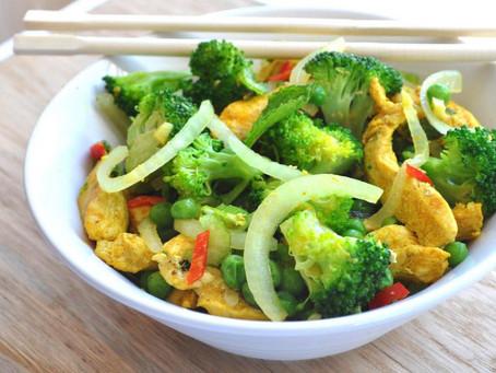 Thai Spiced Chicken Stir Fry