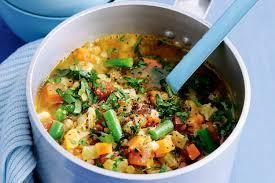 Vegetable & Lentil Soup Recipe