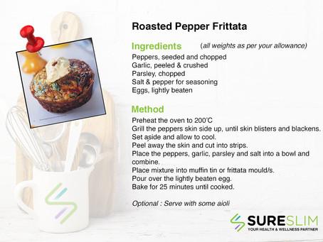 Roasted Pepper Frittata