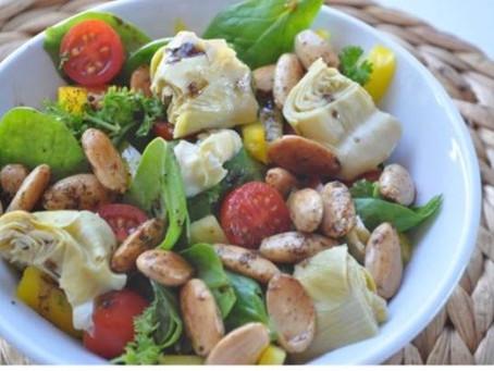 Spicy Nut Salad