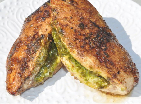 Garlic & Pesto Chicken