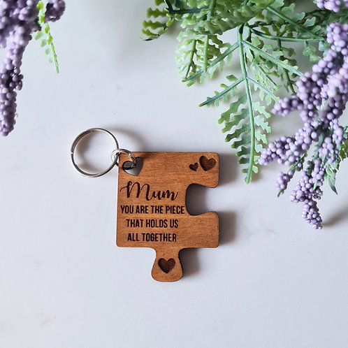 Puzzle Piece - Key Ring