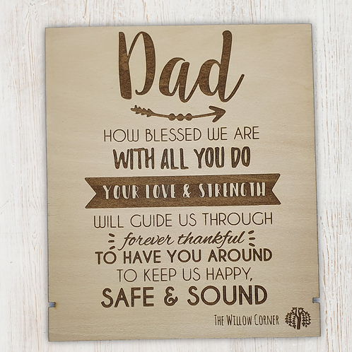 Dad Father Sign