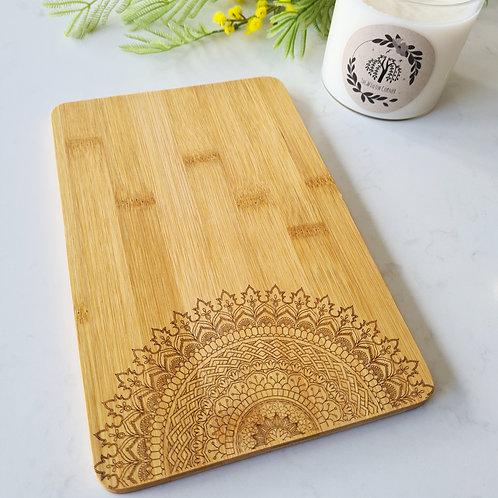 Mandala - Engraved Chopping Board