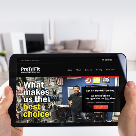 ProTriFit Website Redesign