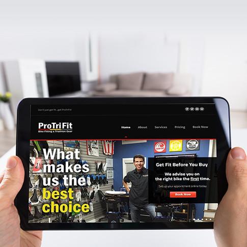 ProTriFit Website Redesign