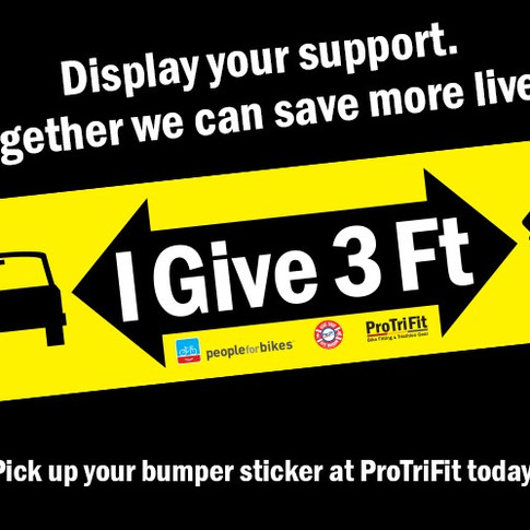 Give 3 Feet Awareness Campaign