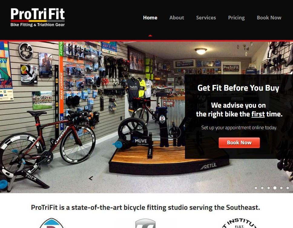 ProTriFit Website
