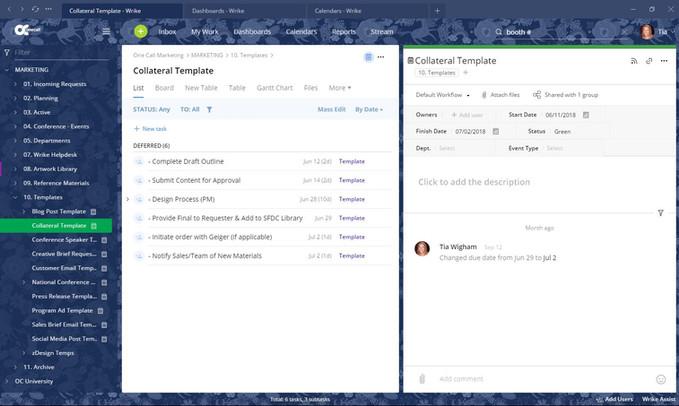 Folder Tree & Task Templates