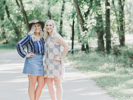Lydia and Grace | Senior Session