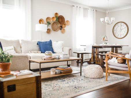 Home Tour | Living Room