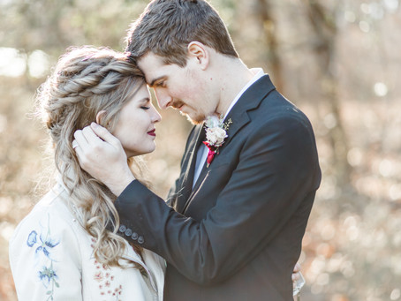 Leather and Lace Styled Shoot