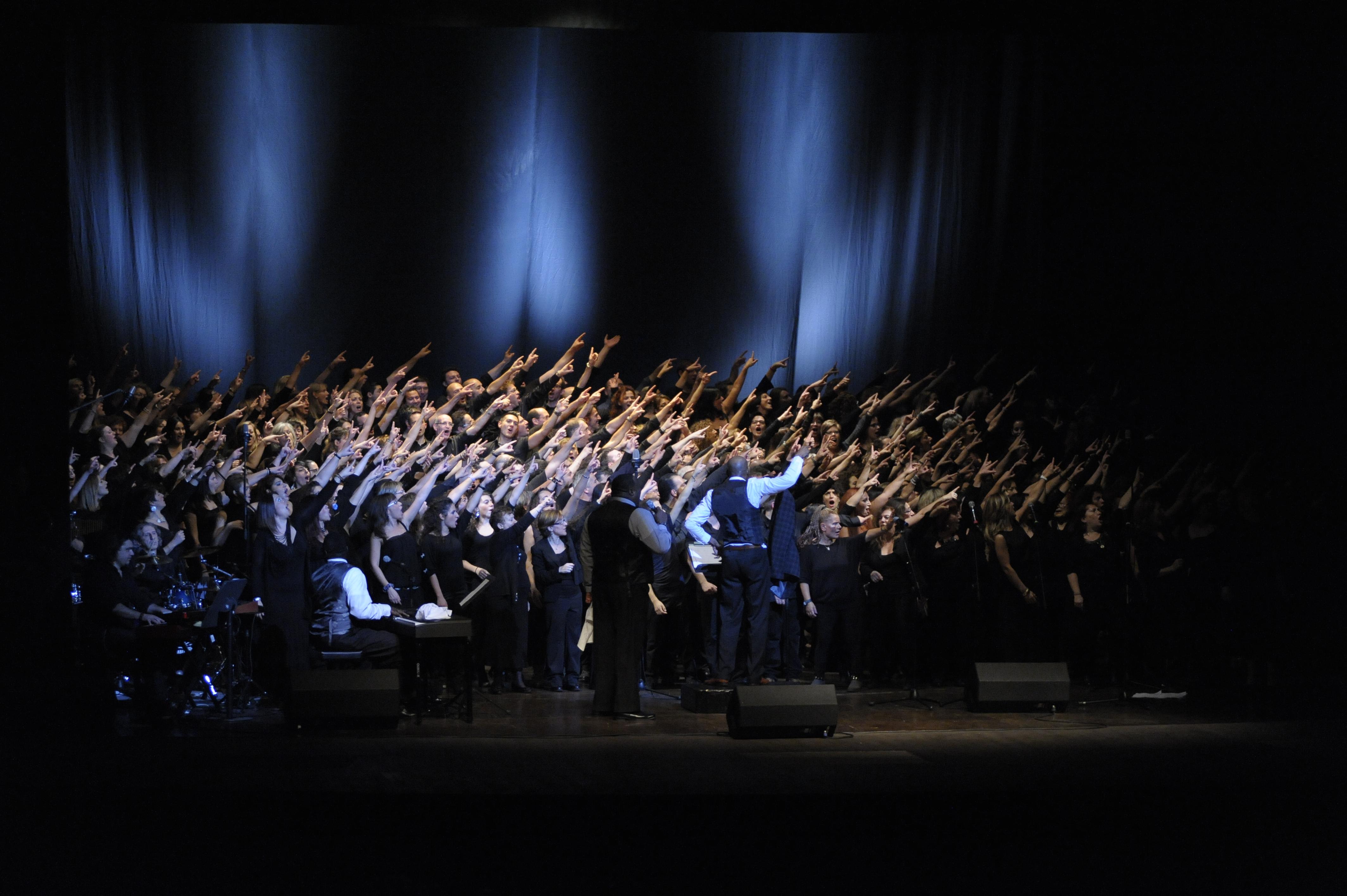 Gospel Connection 2012 - Teatro Lyrick, Assisi 2 - Copia