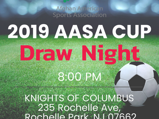 2019 AASA Cup Schedule & Draw Night