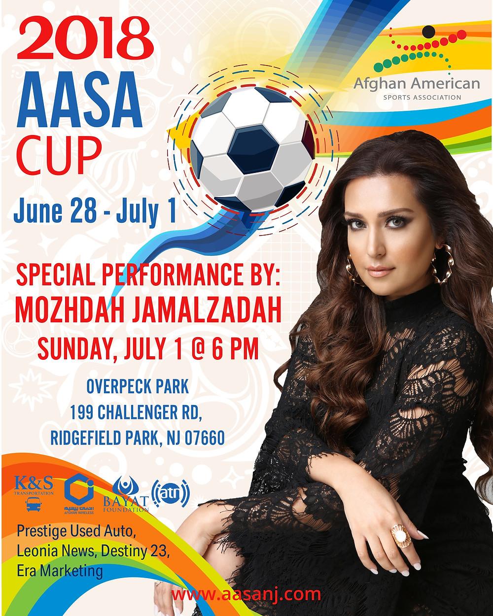 Mozhdah Jamalzadah 2018 AASA Cup Performance