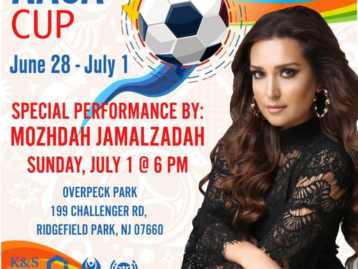 Mozhdah Jamalzadah To Perform At 2018 AASA Cup