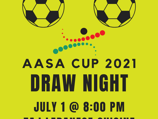 2021 AASA Cup Draw Night Updates