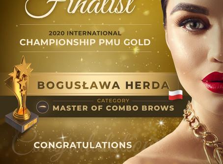 Bogusława Herda Finalistką Międzynarodowych Mistrzostw w Makijażu Permanentnym PMU GOLD