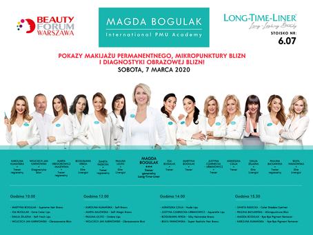 Bogusława Herda - Pokaz Techniki Silky Hairstroke Brows