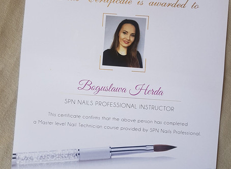 Oficjalny Instruktor Marki SPN Nails