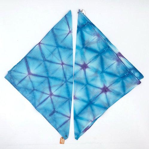 Lisa Bandana XS S/M Blue-Purple