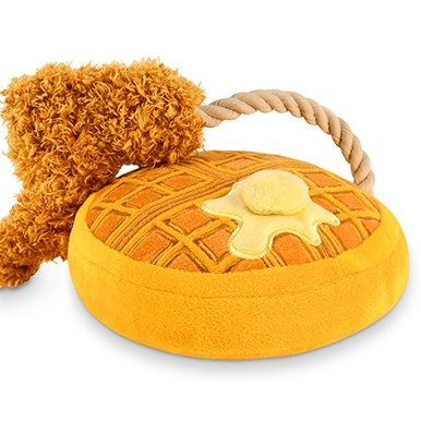 Chicken & Woofles Plush Toy