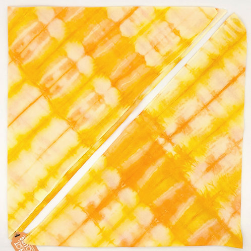 Lisa Bandana L/XL Yellow-Orange Stripe