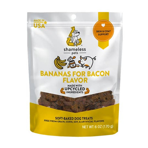 Bananas For Bacon Soft Baked Dog Treats