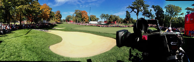 Ryder Cup Camera Position USA 2016