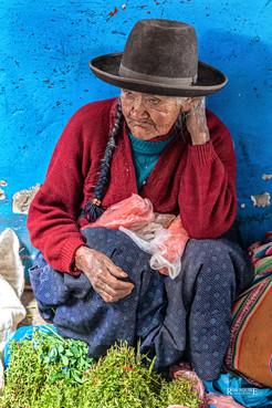 Peru Market Seller