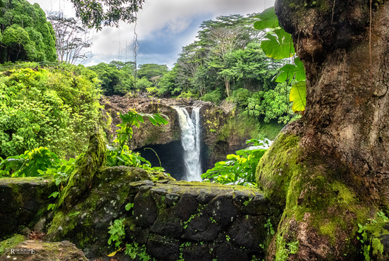 Hilo's Rainbow Falls